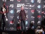 Jon Jones, Daniel Cormier Brawl At UFC 178 Media Day