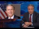 John Stewart Destroys Bush On His Admin's Use Of Torture