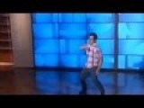John Prats Dancing On The Ellen Show April 2015