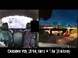 Jackknifed Tractor Trailer