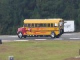 Jet Powered School Bus