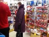 Just Another Day In A Russian Supermarket