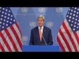Kerry To Speaks After Iran Nuclear Talks