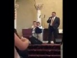 Kid Sings No Homos Going To Heaven In His Church. Get's A Standing Ovation