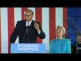 Khizr Khan Campaigns With Hillary Clinton In Manchester, NH FULL Speech 11 6 16