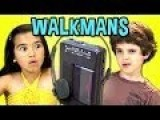 KIDS REACT TO WALKMANS Portable Cassette Players It's So Hard To Say Goodbye To Yesterday