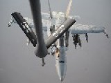 KC-135 Stratotanker Supporting Air Strikes In Syria