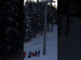Kid Falls From Chairlift At Whistler