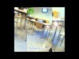 Kid Lights A Big Firecracker In School Canteen