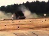 Kuwaiti Crew TANK DRIFT Rolls-over T-72 At Russia's Tank Biathlon