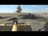 Kurdish Peshmerga Blows Up An Incoming ISIS VBIED With Milan ATGM Translation Provided