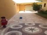 Kid Scores A Bullseye