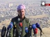 Kurds And Yazidi Fighters Drive ISIL Out Of Sinjar