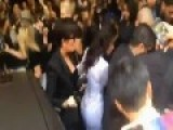 Kim Kardashian Tackled At Paris Fashion Week