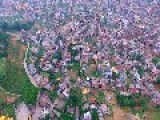 Kathmandu Drone Footage Shows People Living In Tents After Quakes
