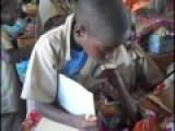 Kids In Africa Opening Shoe Box Full Of Gifts