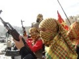 Kobani YPJ Kurdish Women Fighters - Front-line-report - Yazidi Refugees + New Scenes