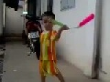 Kid Doing Better With Nunchucks Then Most Adults Seen In Such Vids