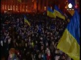 Kyiv Lights Up In Remembrance Of 'Heavenly Hundred' Who Died 1 Year Ago At Maidan