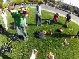 KAmazing: Kid Solves 3 Rubiks Cube While Juggling Them