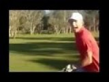 Kangaroo Chases Two Female Golfers