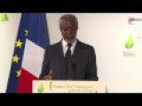 Kofi Annan On Climate Trends: NYC Will Drown And 'the Living Would Envy The Dead'