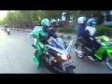 KAMEN RIDER DOUBLE Patrol In The City Of Pekanbaru Riau