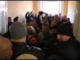 Kiev: Fights During The Ukraine Elections