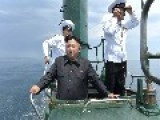 Kim Jong-Un Mans A Soviet Submarine That's Been Obsolete Since 1961 PHOTOS