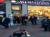 Kerry Speaks To Muscovites After Squeezing In Some Souvenir Shopping