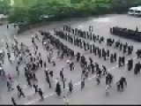 Korean Riot Police Training