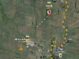Kiev Terrorists Blockpost Is Shelled, Mariupol North