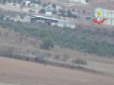 Kobani: ISIS Tank Hit By Kurds