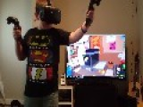 Kid Tries Out Virtual Reality For The First Time