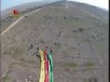 Kobane: Rojava Flag Raised Above Mishtenur Hill By YPG