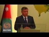 King Of Jordan Warns Of 'world War' Against Humanity