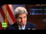 Kerry Says US Has No Intention For Regime Change In Syria