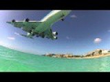 KLM 785 Landing At SXM - Princess Juliana Airport, St Maarten