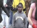 Kid Bewildered At Sight Of Strange People Dancing THUG LIFE