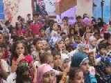 Kids Celebrating Eid In FSA Controlled Area