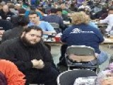 Kid Goes To Magic The Gathering Tournament, Poses Next To Ass Cracks