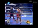 Kungfu Vs Muay Thai: Fang Bian TKO Simon Marcus