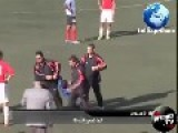 Kid Interrupts Football Match And Manages To Impress The Spectators With An Acrobatic