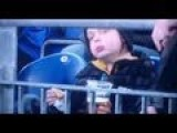 Kid Drinks BEER At Soccer Game