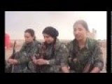 Kurdish Female Fighters Ready To Send ISIS To Hell