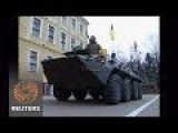 Kiev Finally Showed Video Of Their High Alert Army