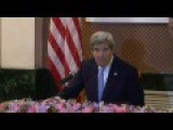 Kerry Rejects Question By Chinese Journalist