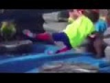 Kid Gets Owned By Carnival Machine