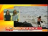 Karl Loses It During Interview With Surfing Rescuers