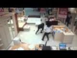Laptop Thief Gets Taken Down By A Woman